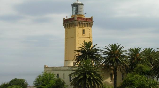 Faro de Tánger en Marruecos