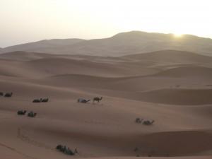 Sahara, dunas de Merzouga
