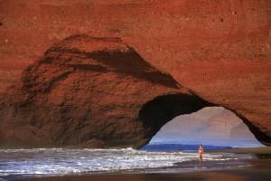 Vacaciones de verano en Marruecos. Playa Marabout