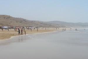 Playa de las tres piedras Asilah