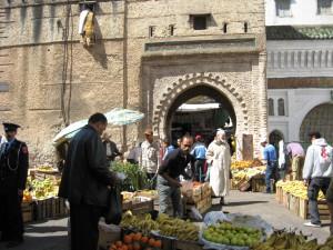 Vacaciones de verano en Marruecos. Tetuán ciudad.